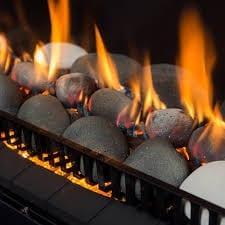 Rinnai 650 Gas Log Fire 1