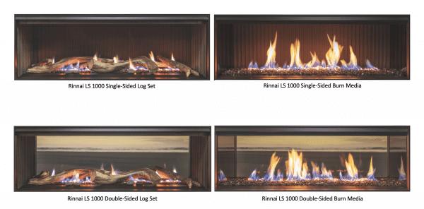 Rinnai LS1000 Fire Options