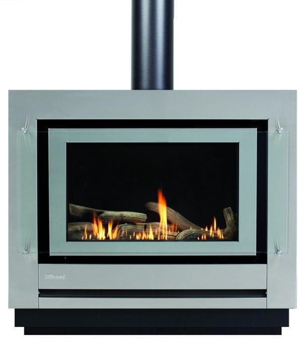 rinnai sapphire freestanding console