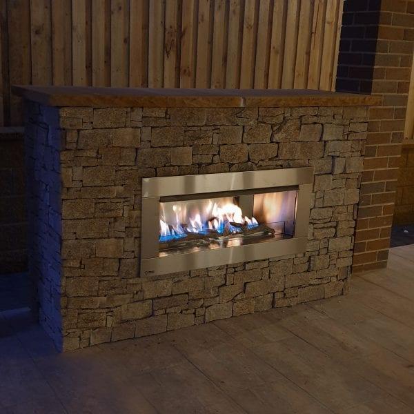 Regency HZO42 Outdoor Fireplace