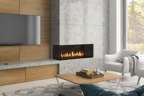 Regency City Series Chicago Corner 40LE Gas Fireplace